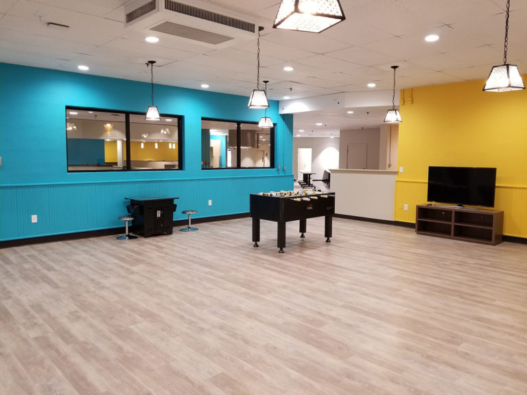 amenity renovation game room