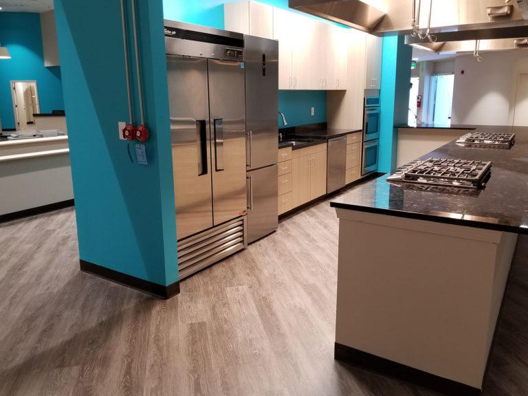 amenity renovation teaching kitchen