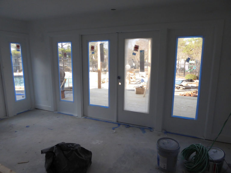apartment amenity renovation exterior french doors leasing office clubhouse