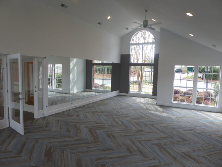 apartment amenity renovation interior flooring painting lighting windows leasing office clubhouse