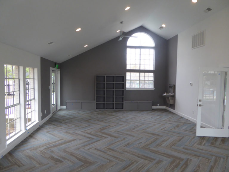 apartment amenity renovation interior painting lighting flooring window leasing office clubhouse