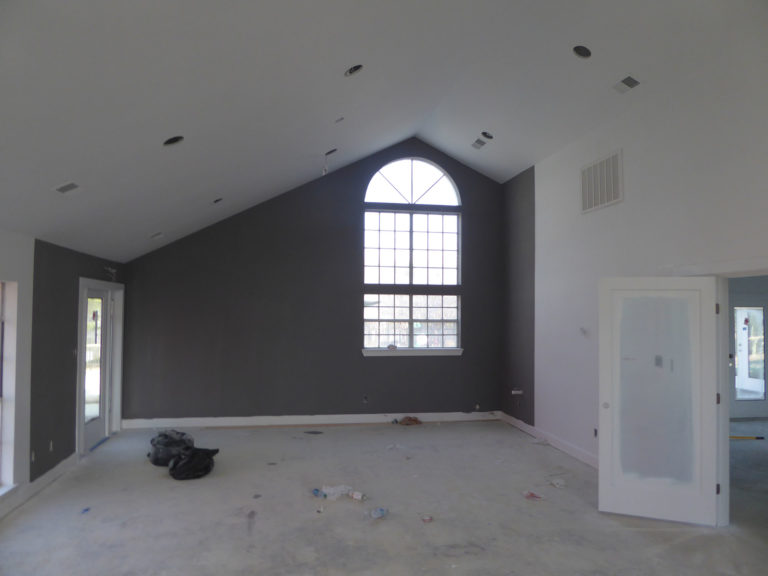 apartment amenity renovation interior window painted leasing office clubhouse