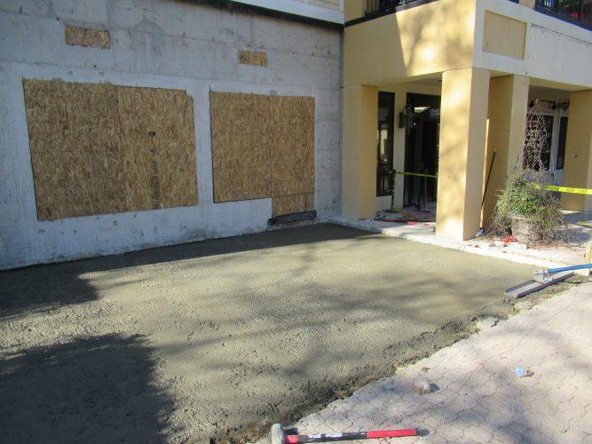 amenity renovation fitness center gym painting exterior prime