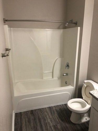 apartment bathroom tub shower renovation