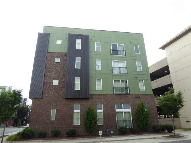 apartment exterior paint renovation