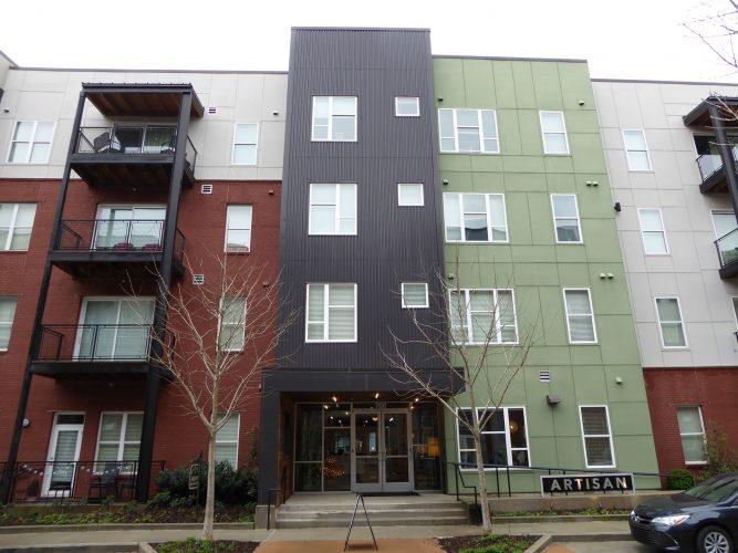 apartment exterior paint renovation balcony