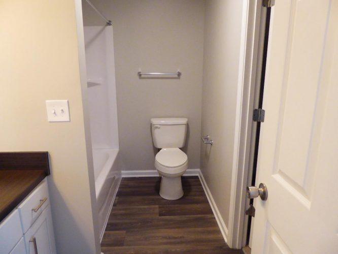 apartment fire damage interior bathroom complete remediation