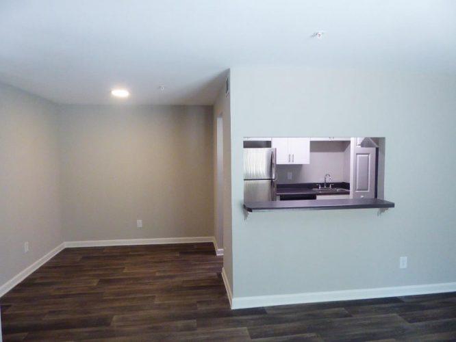 apartment fire damage interior kitchen complete fire remediation