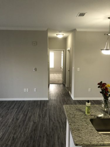 apartment hallway renovation