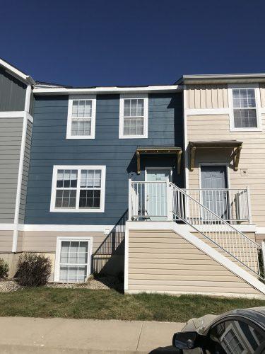 apartment hardie siding paint porch complete renovation (16)