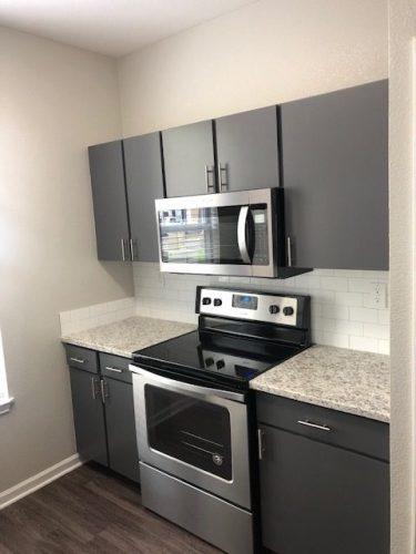 apartment kitchen cabinet appliance renovation