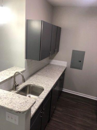 apartment kitchen cabinet renovation