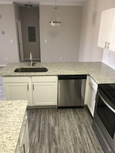 apartment kitchen dining room renovation