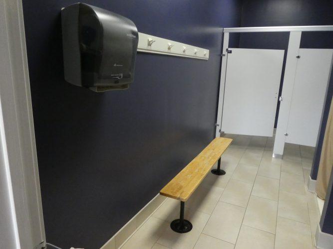gym restroom